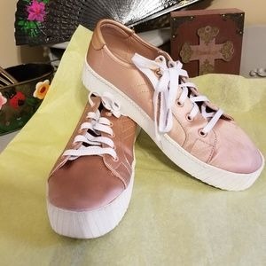 Tretorn Blair Satin & Sand sneakers